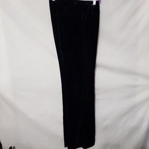 J CREW High Rise Flared Velvet Pants